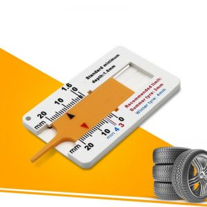 Tyre depth measuring gauge